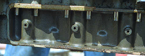 genset cam follower cover, 19,000 plus hours of operation