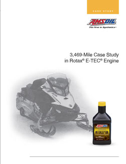 Interceptor oil study in Ski-Doo E-TEC