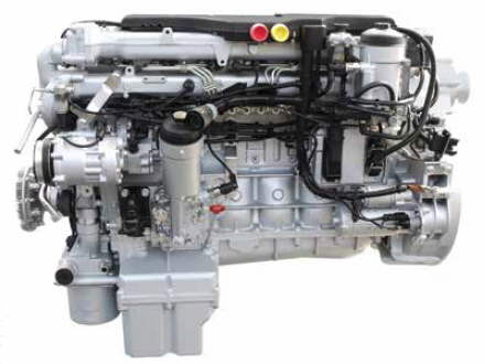 Mercedes Diesel Truck Engine